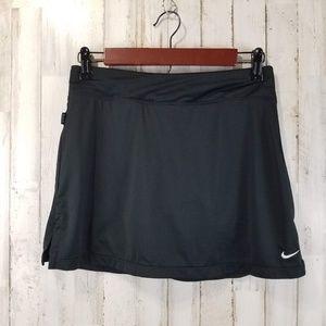 Nike Dri Fit Womens Tennis Skirt S Black